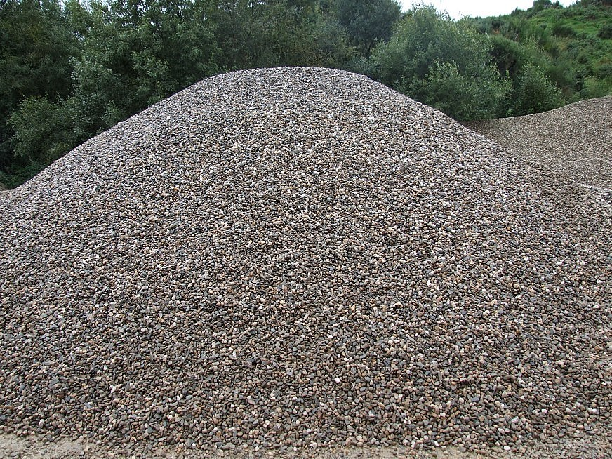Sand And Gravel : Gravel devines sand and limited